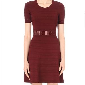 Sandro Dean Textured Knit Dress - Brand new!